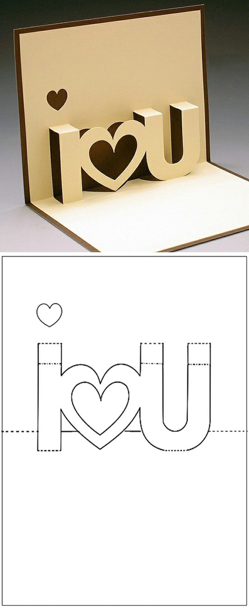 Pop-up card craft