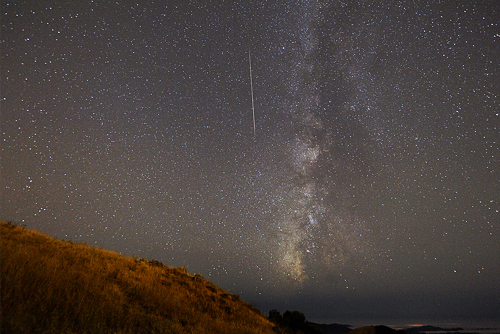 Perseids meteor shower.