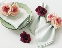 Rose Napkin Holder